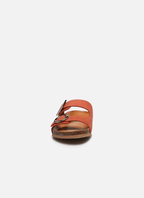 Mules et sabots Georgia Rose Soft Nipona Orange vue portées chaussures