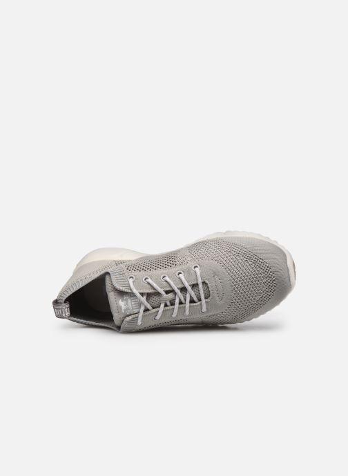 Sneaker Mustang shoes 5054303 grau ansicht von links
