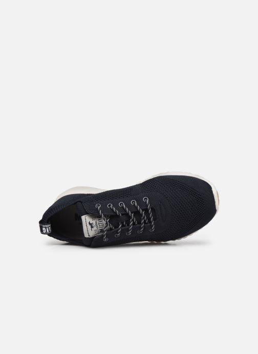 Sneaker Mustang shoes 5054303 blau ansicht von links