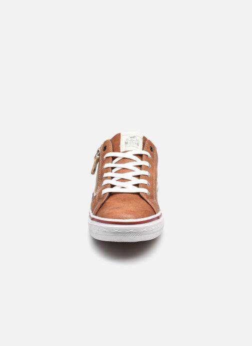 Baskets Mustang shoes 5056303 Marron vue portées chaussures