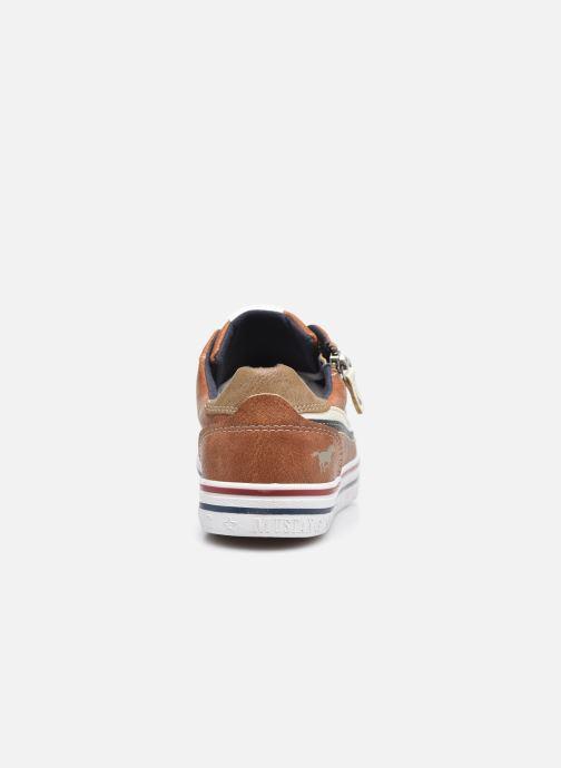 Baskets Mustang shoes 5056303 Marron vue droite