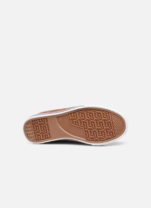 Baskets Mustang shoes 5056303 Marron vue haut