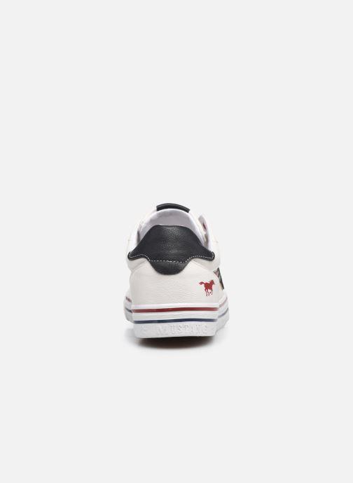 Baskets Mustang shoes 5056301 Blanc vue droite