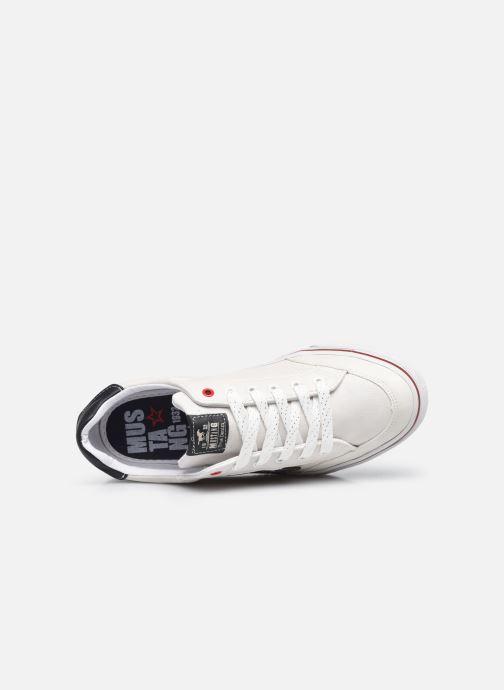 Baskets Mustang shoes 5056301 Blanc vue gauche