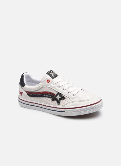 Baskets Mustang shoes 5056301 Blanc vue détail/paire