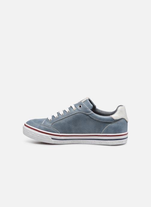 Baskets Mustang shoes 5056301 Bleu vue face