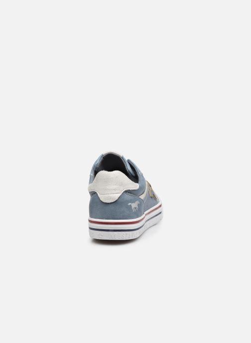 Baskets Mustang shoes 5056301 Bleu vue droite
