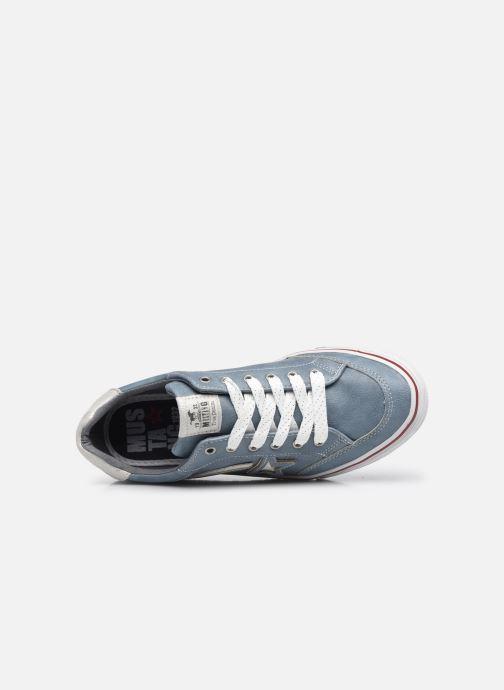 Baskets Mustang shoes 5056301 Bleu vue gauche
