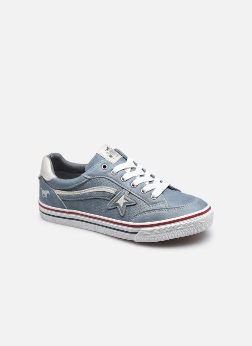 Baskets Mustang shoes 5056301 Bleu vue détail/paire