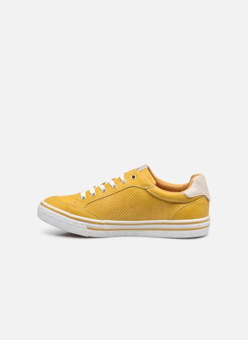 Baskets Mustang shoes 5056301 Jaune vue face