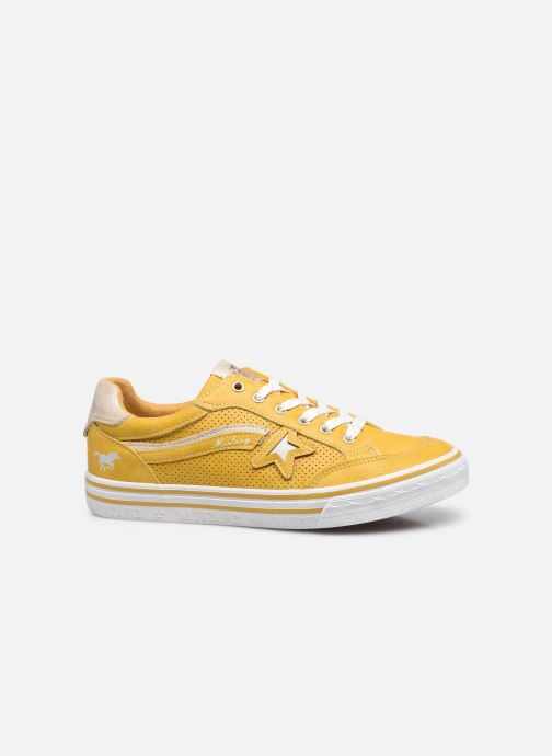 Sneaker Mustang shoes 5056301 gelb ansicht von hinten