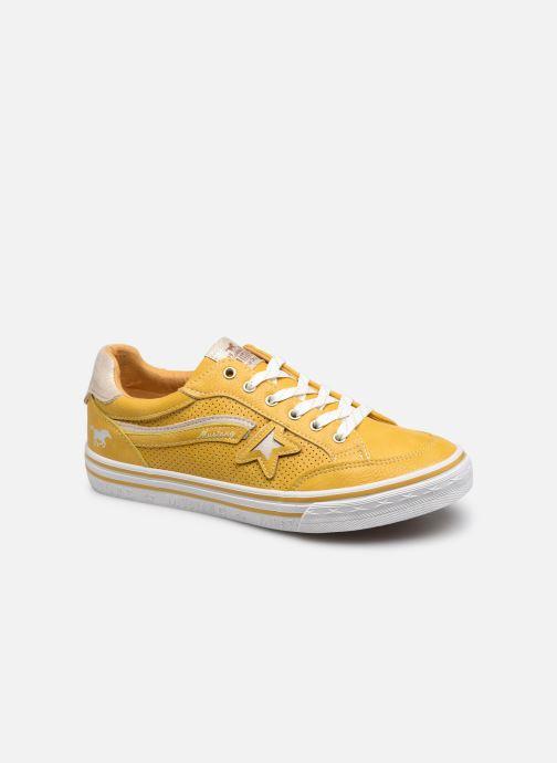 Baskets Mustang shoes 5056301 Jaune vue détail/paire