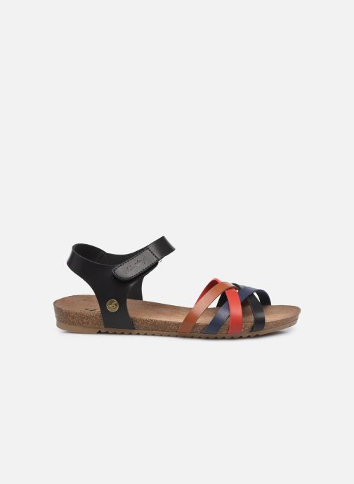Sandalen Mustang shoes 5057801 schwarz ansicht von hinten