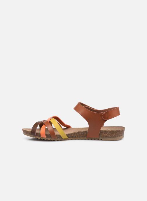 Sandales et nu-pieds Mustang shoes 5057801 Marron vue face