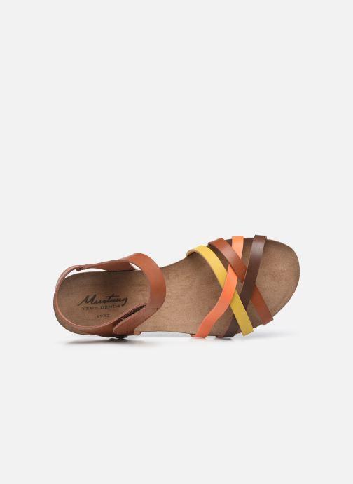 Sandales et nu-pieds Mustang shoes 5057801 Marron vue gauche