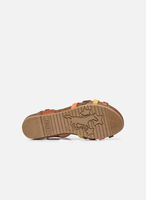 Sandales et nu-pieds Mustang shoes 5057801 Marron vue haut