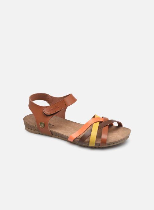 Sandales et nu-pieds Mustang shoes 5057801 Marron vue détail/paire