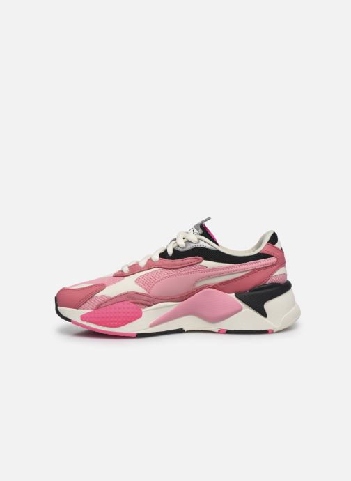 Baskets Puma RS-X3 CUBE W Rose vue face