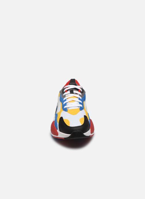 Baskets Puma RS-X3 CUBE H Multicolore vue portées chaussures