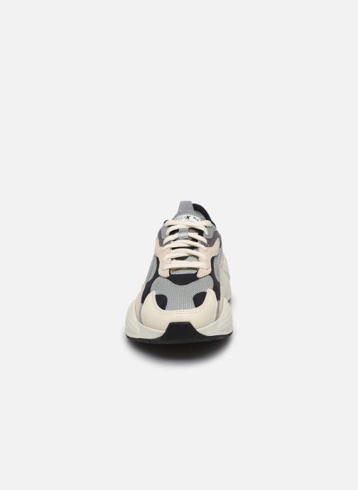 Baskets Puma RS-X3 CUBE H Gris vue portées chaussures