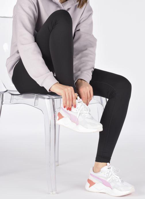 Baskets Puma RS-X3 Plas_Tech Wn's Blanc vue bas / vue portée sac
