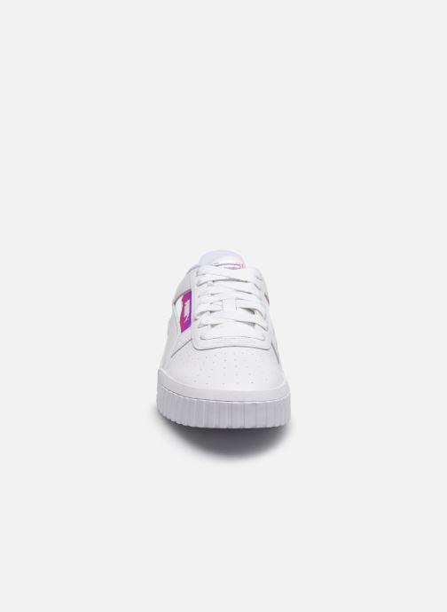 Baskets Puma Cali Shine Wn's Blanc vue portées chaussures