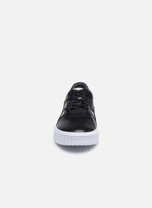 Sneaker Puma Cali Snake Wn's schwarz schuhe getragen