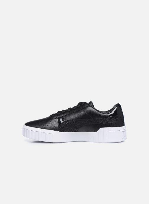 Sneaker Puma Cali Snake Wn's schwarz ansicht von vorne