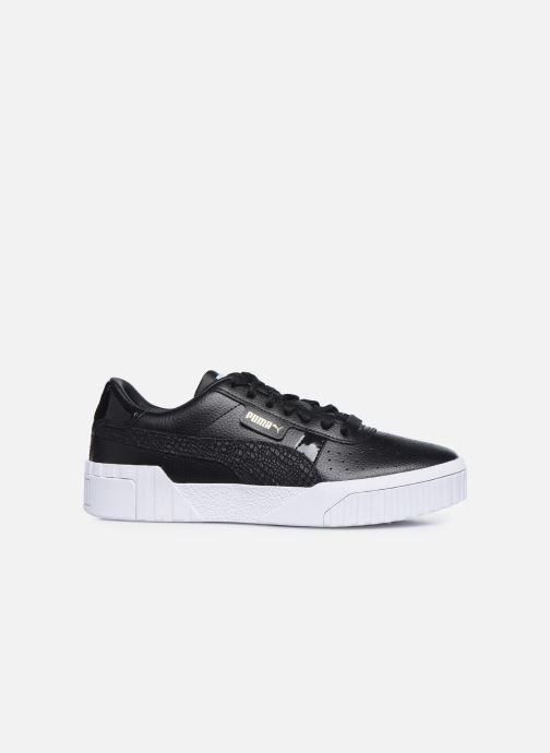 Sneaker Puma Cali Snake Wn's schwarz ansicht von hinten