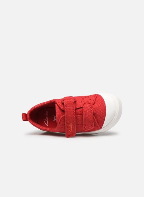 Sneakers Clarks City bright T Rood links