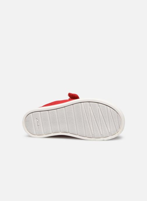 Sneakers Clarks City bright T Rood boven