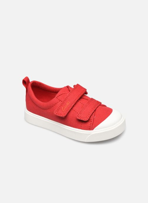 Sneakers Clarks City bright T Rood detail
