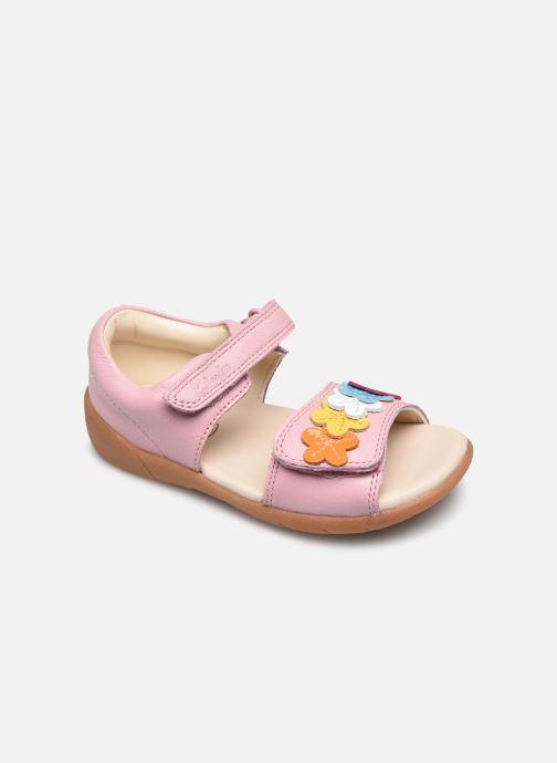 Sandalen Clarks Zora finch T rosa detaillierte ansicht/modell