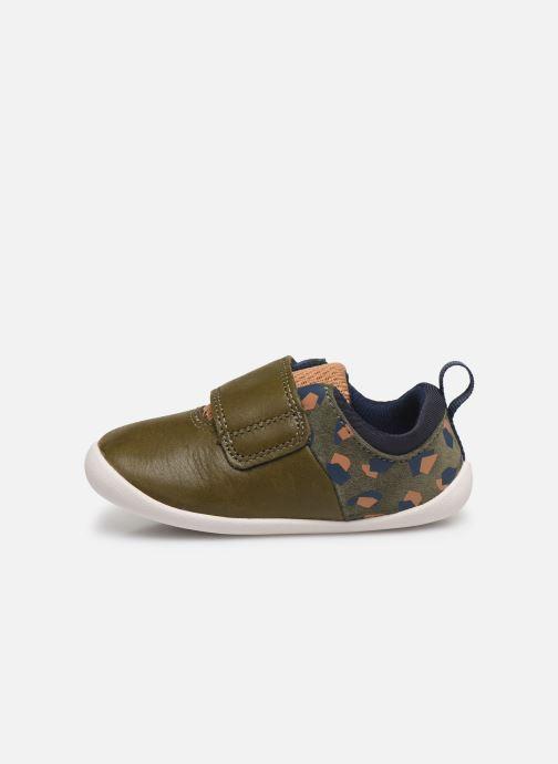 Sneakers Clarks Roamer sport T Verde immagine frontale