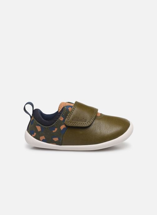 Trainers Clarks Roamer sport T Green back view