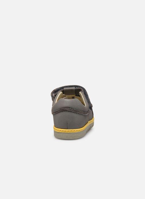 Sandales et nu-pieds Clarks Frances sun T Gris vue droite