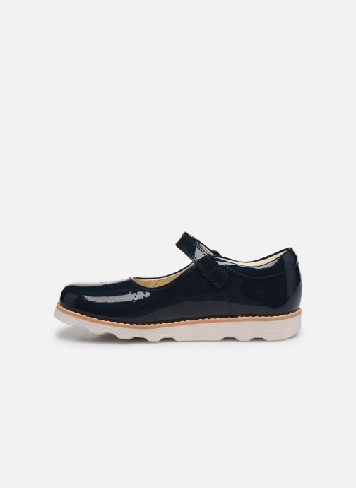 Ballerines Clarks Crown jump K Bleu vue face