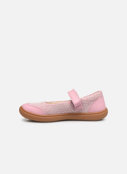 Ballerines Clarks Flash Stride K Rose vue face