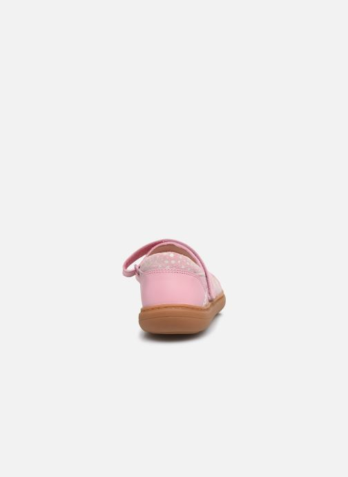 Ballerines Clarks Flash Stride K Rose vue droite