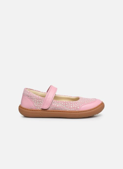 Ballerines Clarks Flash Stride K Rose vue derrière