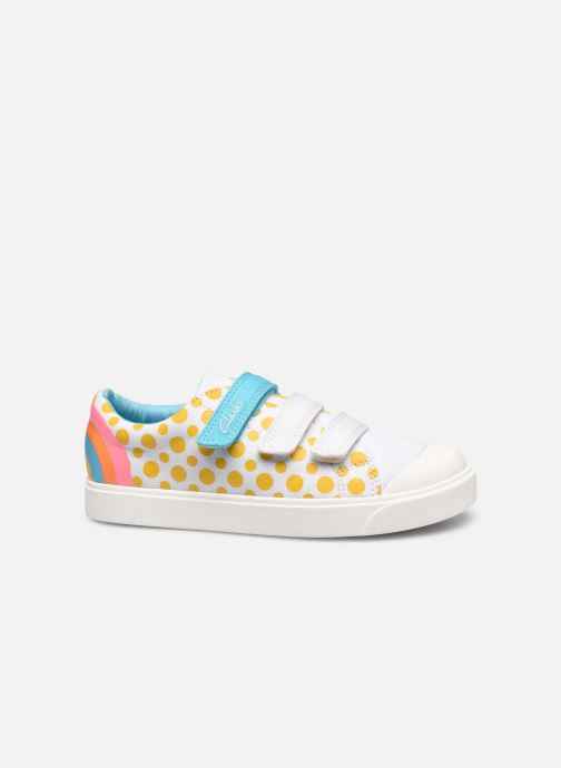 Baskets Clarks City Vibe K Multicolore vue derrière