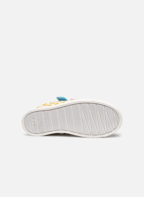 Baskets Clarks City Vibe K Multicolore vue haut