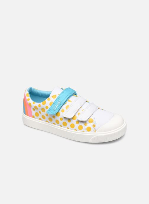 Baskets Clarks City Vibe K Multicolore vue détail/paire
