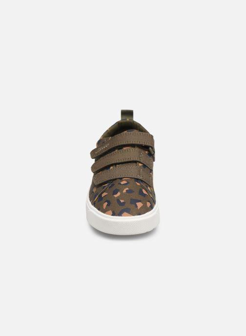 Baskets Clarks City Vibe K Vert vue portées chaussures