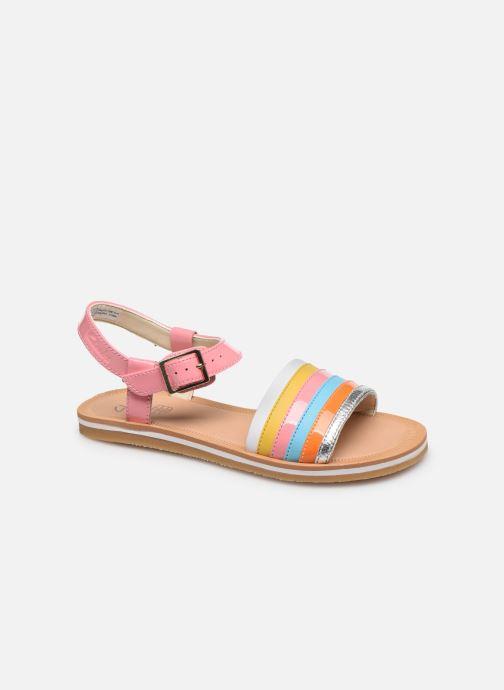 Sandales et nu-pieds Clarks Finch Stride K Rose vue détail/paire