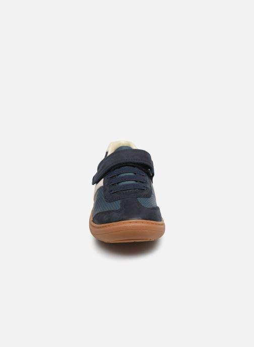 Baskets Clarks Flash Step K Bleu vue portées chaussures