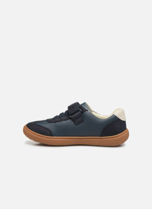 Sneakers Clarks Flash Step K Blå se forfra