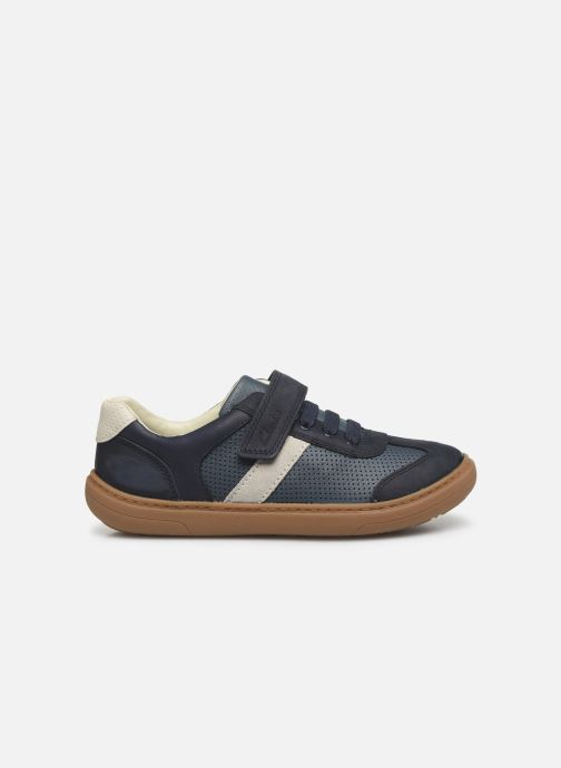 Sneakers Clarks Flash Step K Blå se bagfra