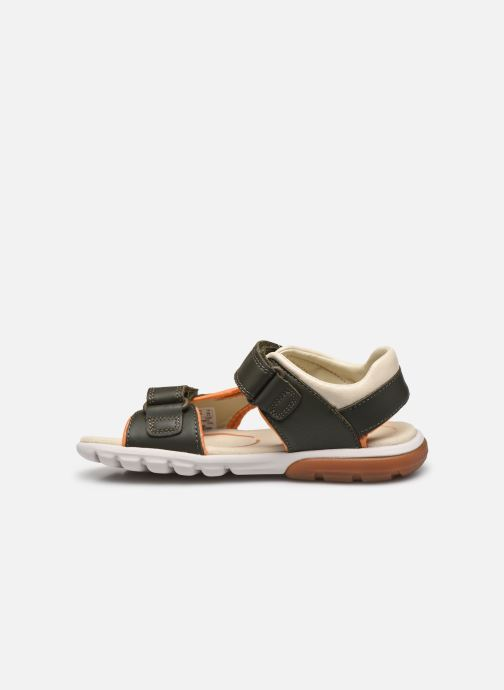 Sandales et nu-pieds Clarks Rocco Wave K Vert vue face