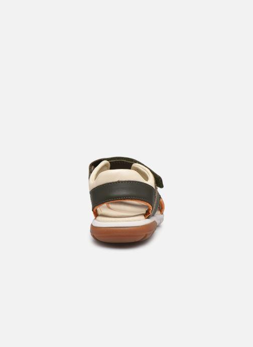Sandales et nu-pieds Clarks Rocco Wave K Vert vue droite